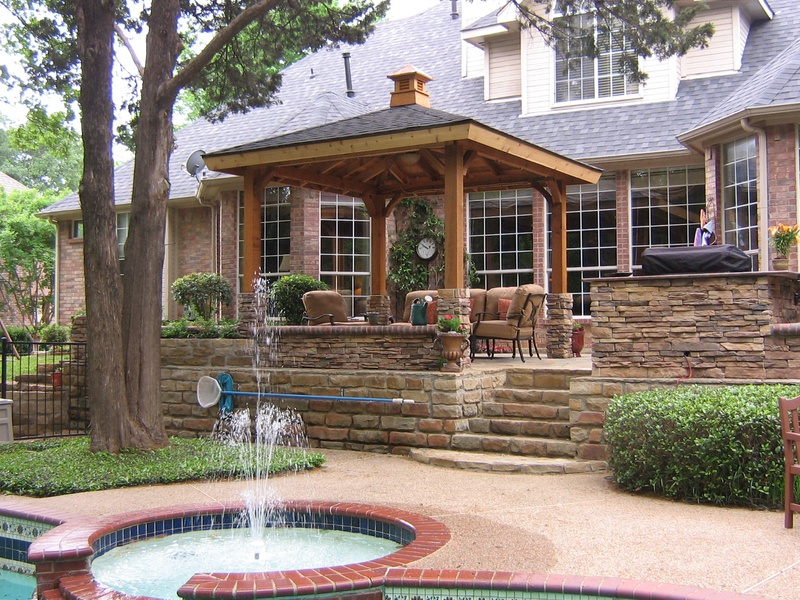 Cedar 10x10 pergola with gazebo style roof cupola home and lawn transformers - Pergola with roof ...