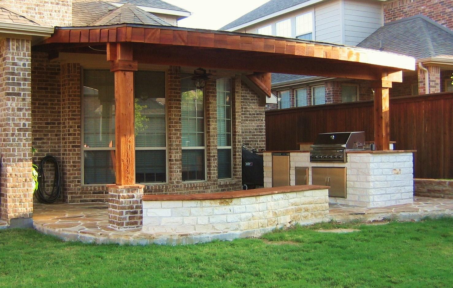 Complete patio construction