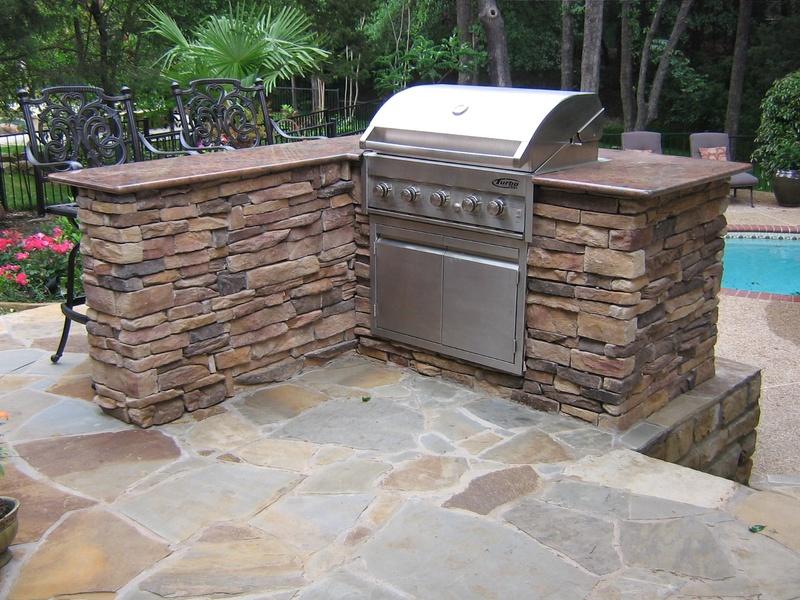 Outdoor Kitchen Granite