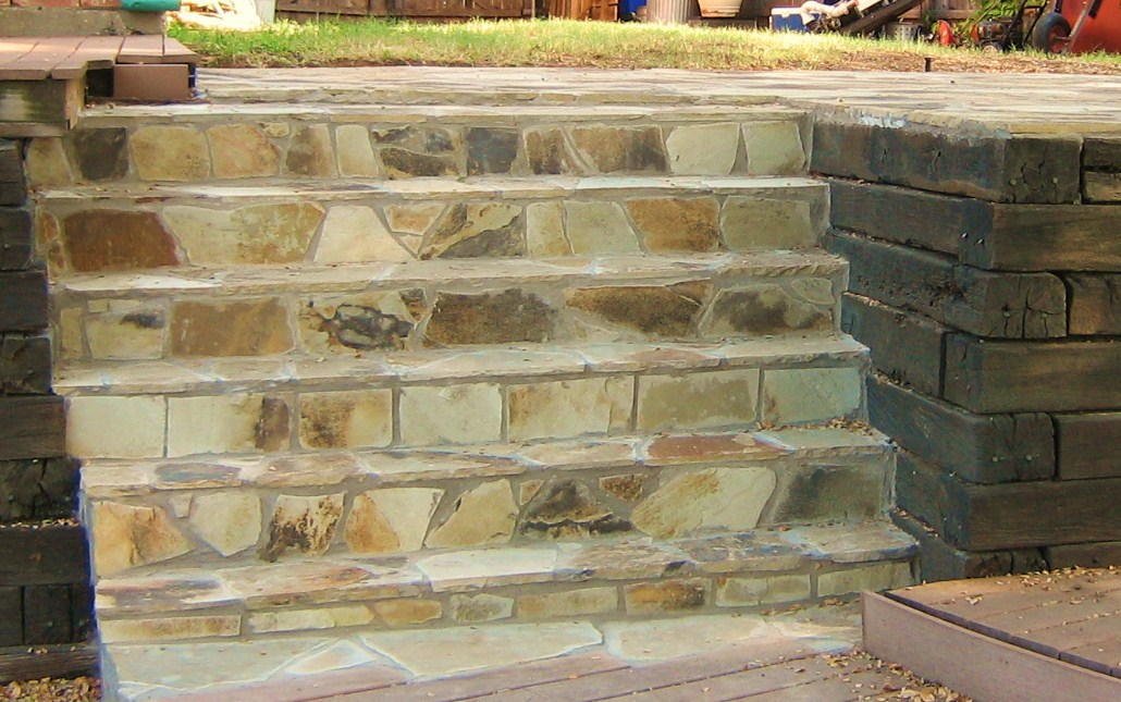 Flagstone Staircase